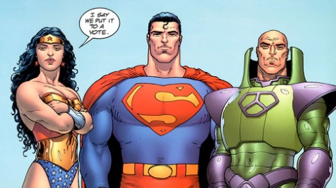Wonder Woman takes charge.